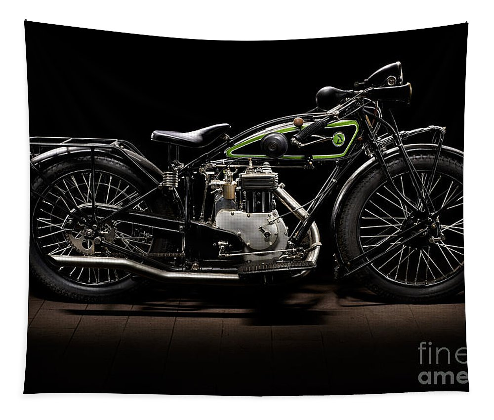 Bike Tapestry featuring the photograph D-rad R04 by Frank Kletschkus