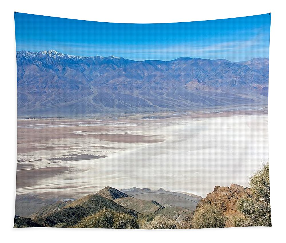 Death Valley Tapestry featuring the photograph Dante's View #3 by Stuart Litoff