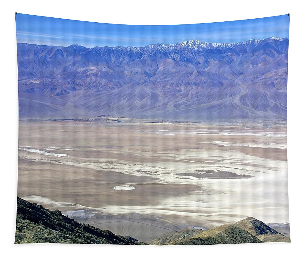 Death Valley Tapestry featuring the photograph Dante's View #4 by Stuart Litoff