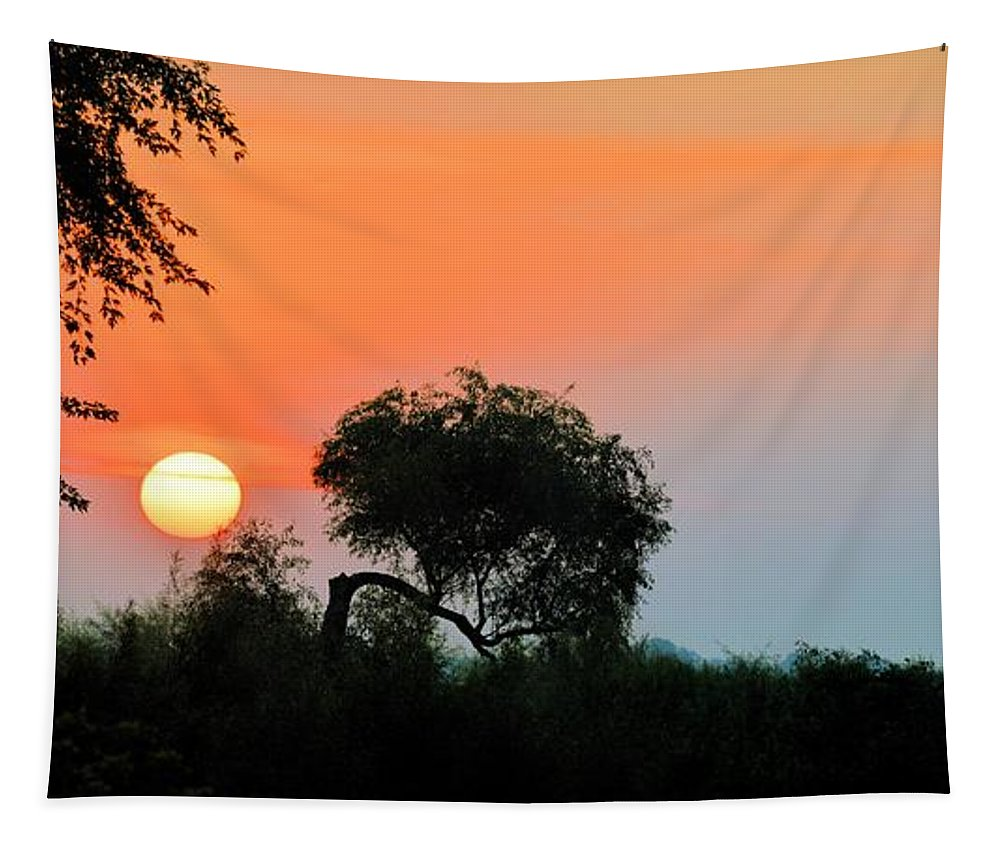 Panorama Tapestry featuring the photograph Daylight by Bonfire Photography