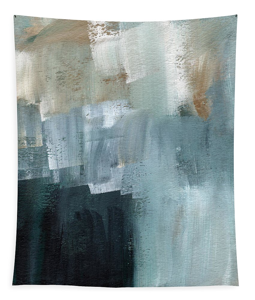 Abstract Art Tapestry featuring the painting Days Like This - Abstract Painting by Linda Woods