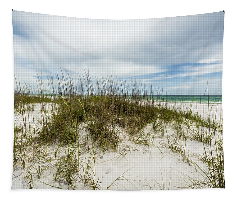 Deserted Beach Tapestry featuring the photograph Deserted Beach by David Morefield