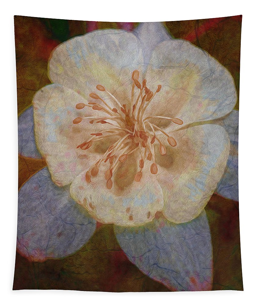 Floral Tapestry featuring the photograph Designer Floral by Deborah Benoit