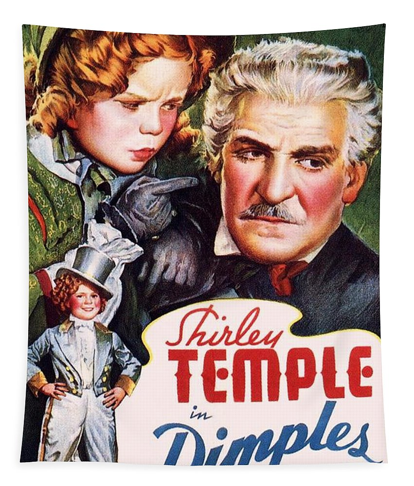 Dimples Tapestry featuring the photograph Dimples by Movie Poster Prints