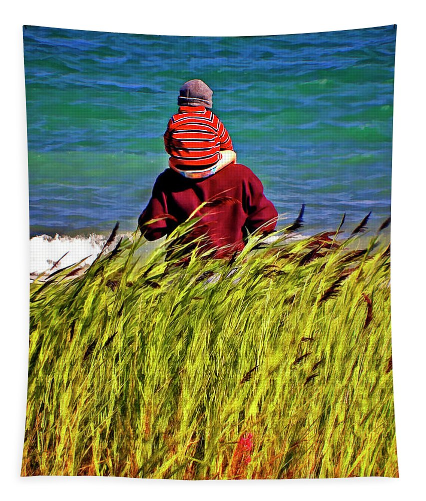 Discovery Tapestry featuring the photograph Discovery by Steve Harrington