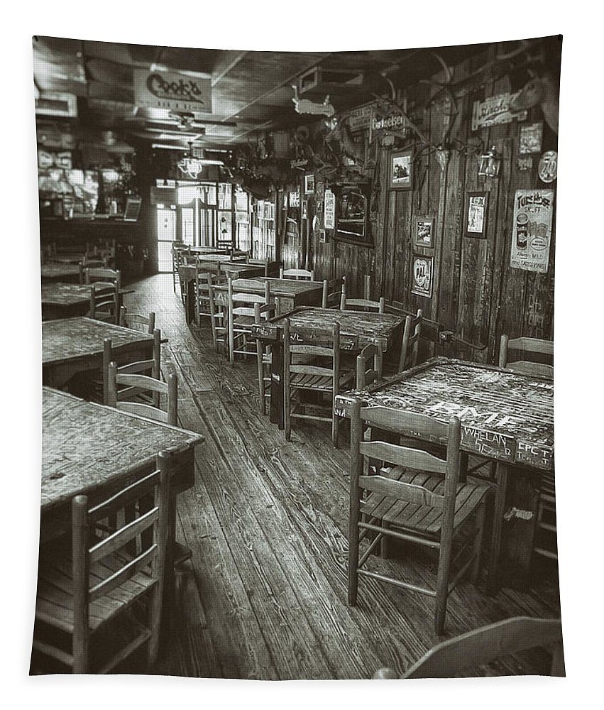 Dixie Chicken Tapestry featuring the photograph Dixie Chicken Interior by Scott Norris