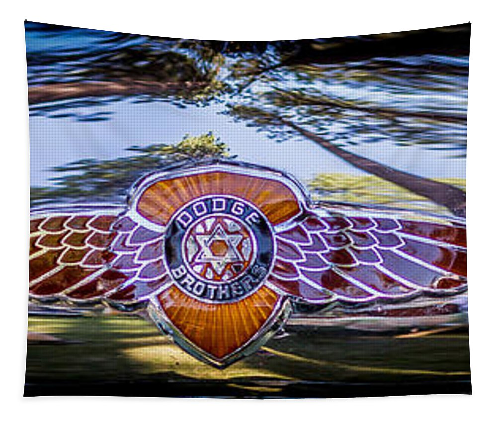 Dodge Brothers Tapestry featuring the photograph Dodge Brothers by Mitch Shindelbower