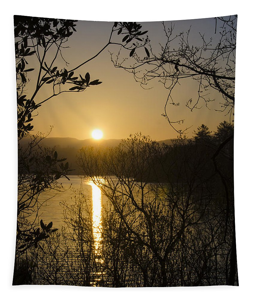 Donegal Tapestry featuring the photograph Donegal Morning - Lough Eske by Bill Cannon