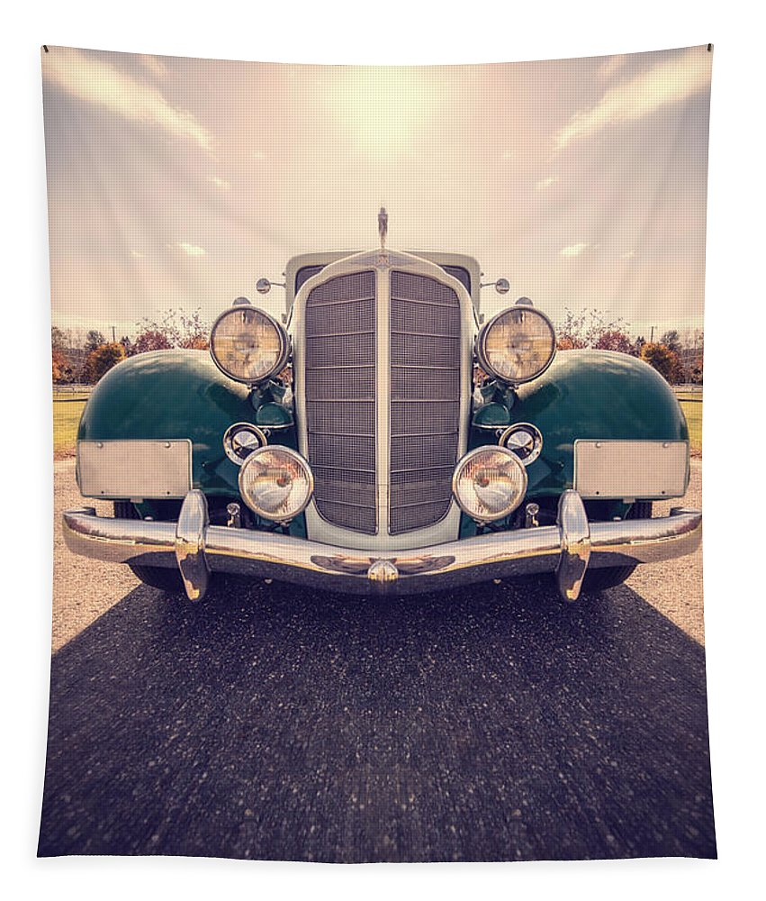 Car Tapestry featuring the photograph Dream Car by Edward Fielding