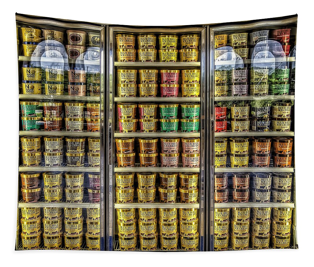 Blue Bell Tapestry featuring the photograph Dream Fridge by Scott Norris