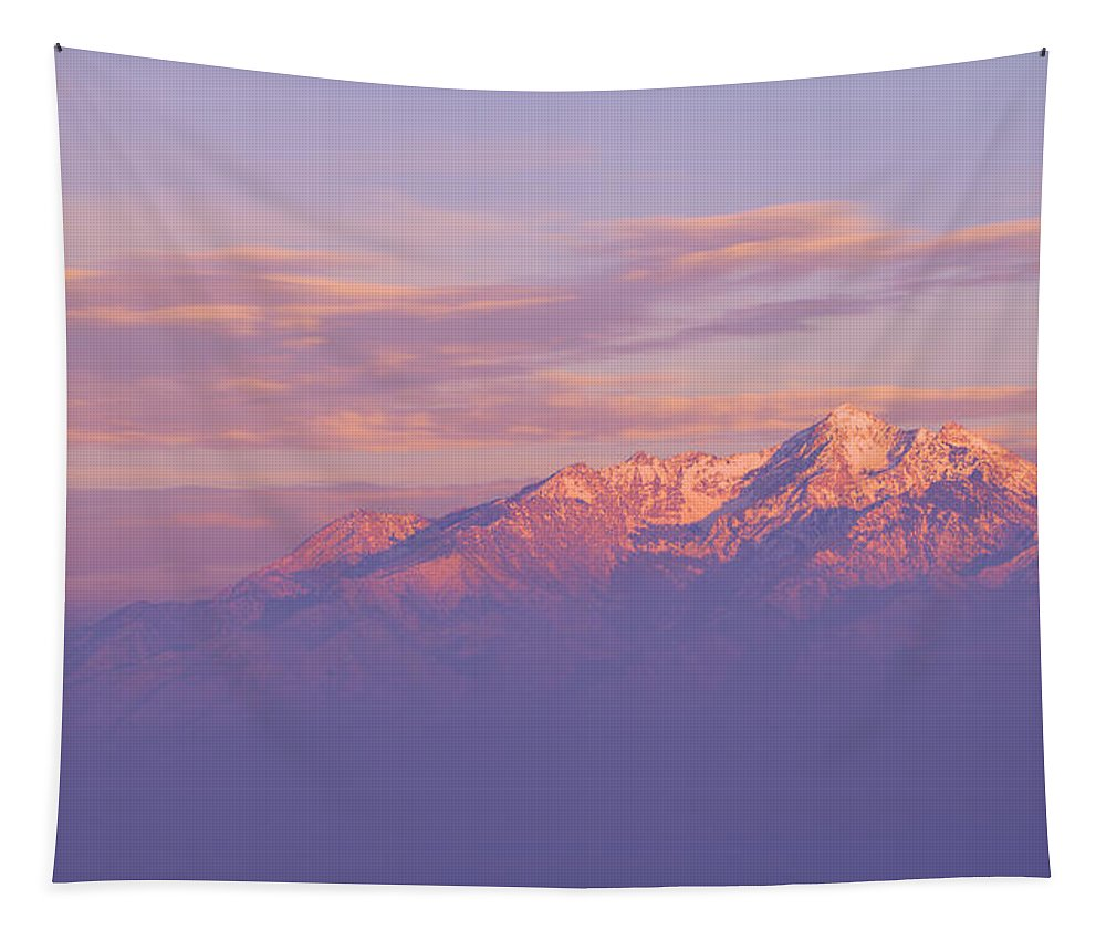 Mountain Tapestry featuring the photograph Dreams by Chad Dutson