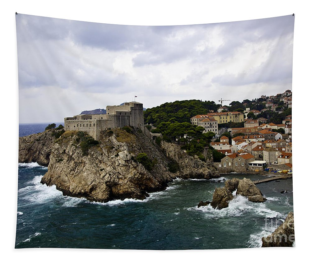 Dubrovnik Tapestry featuring the photograph Dubrovnik In Focus by Madeline Ellis