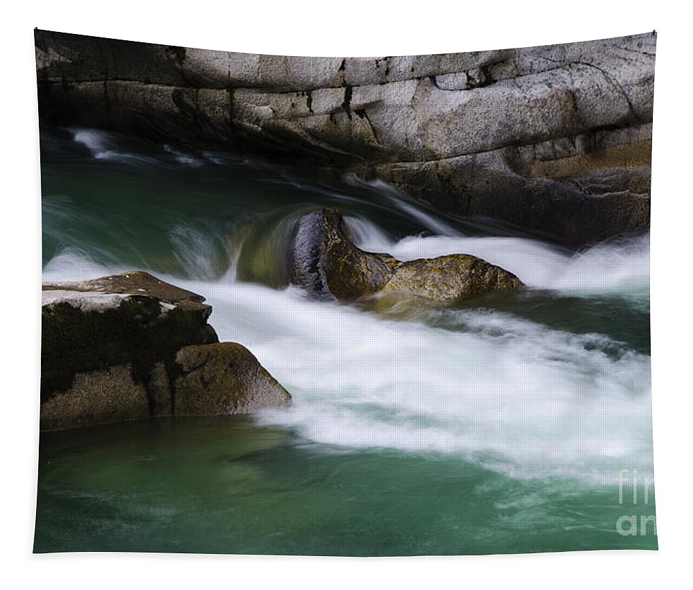 Water Tapestry featuring the photograph Eagle Creek Washington 3 by Bob Christopher