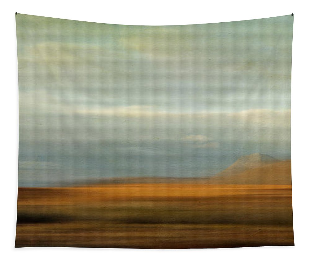 Tundra Tapestry featuring the photograph Earthy Tones by Priska Wettstein
