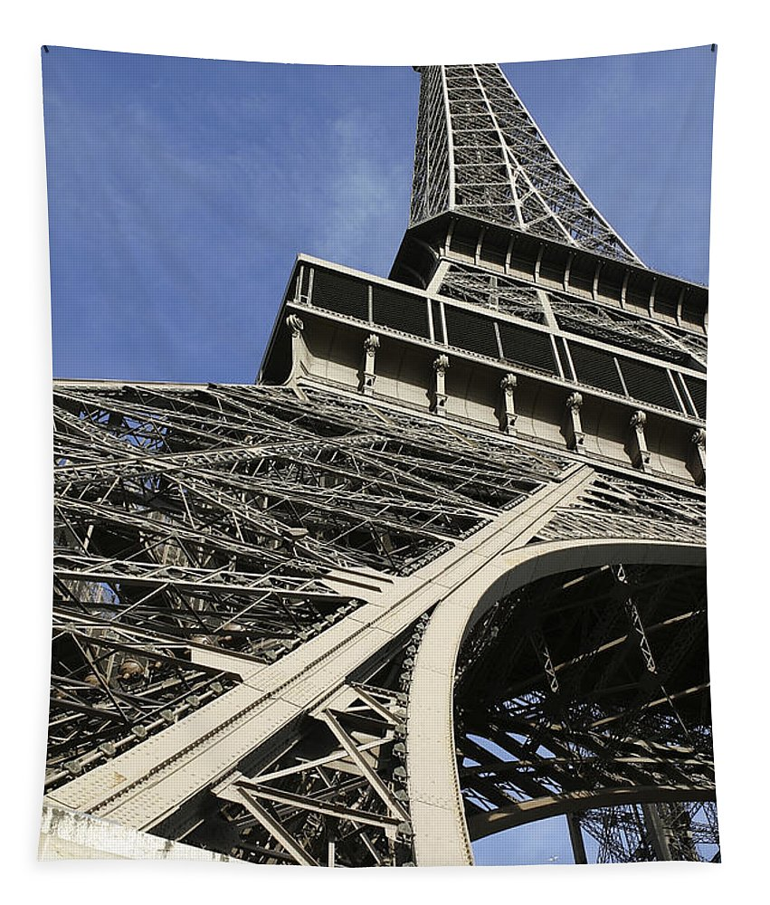Eiffel Tower Tapestry featuring the photograph Eiffel Tower by Belinda Greb