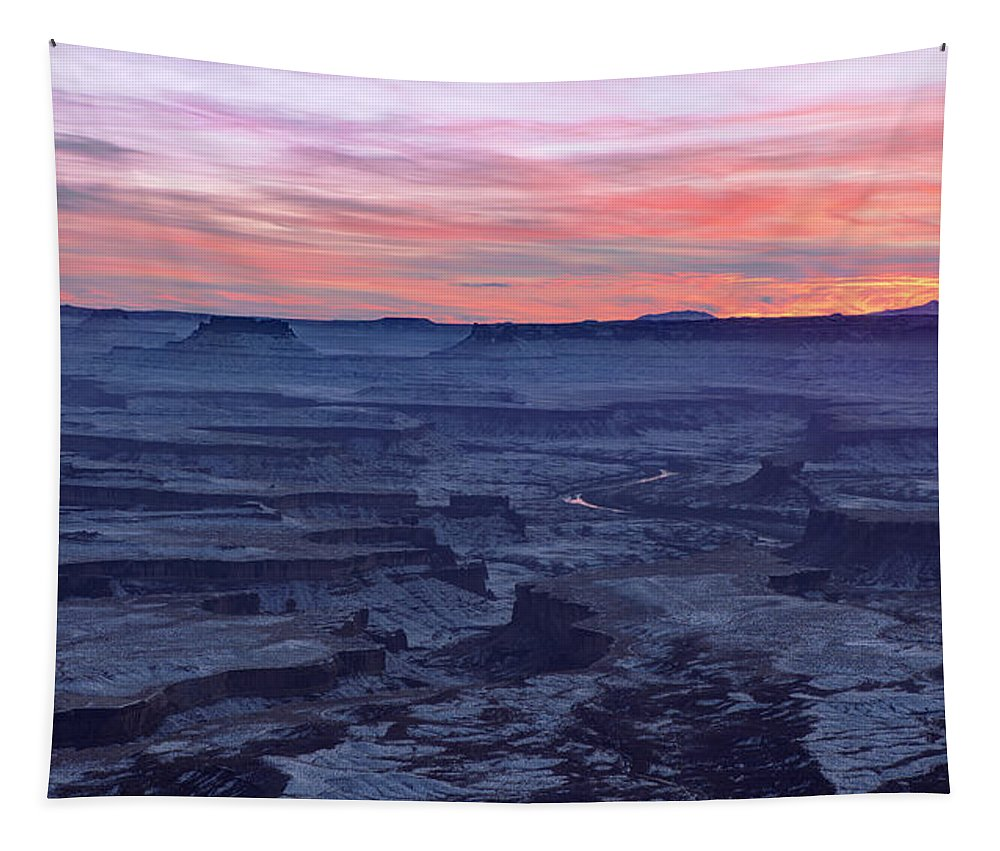 Canyonlands Tapestry featuring the photograph Evanescence by Chad Dutson