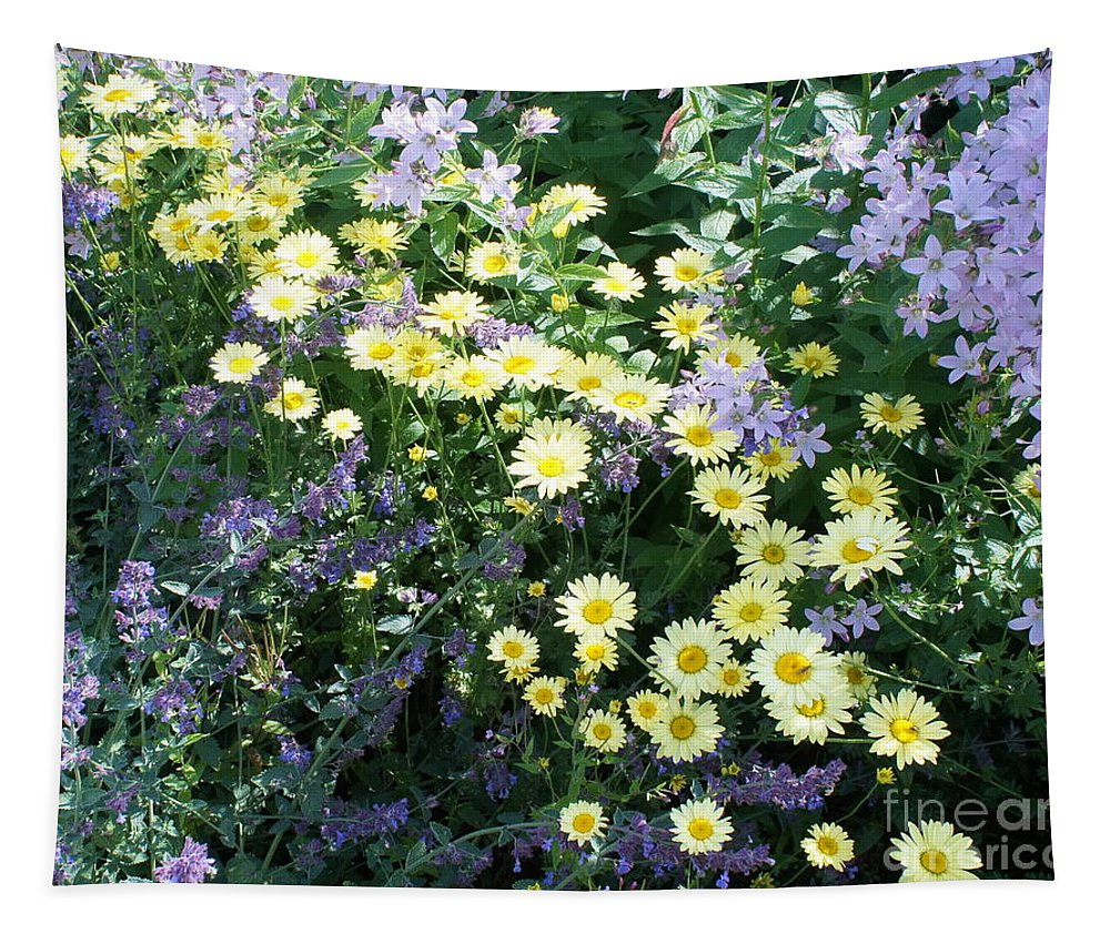 Floral Tapestry featuring the photograph Expectation by Elena Perelman