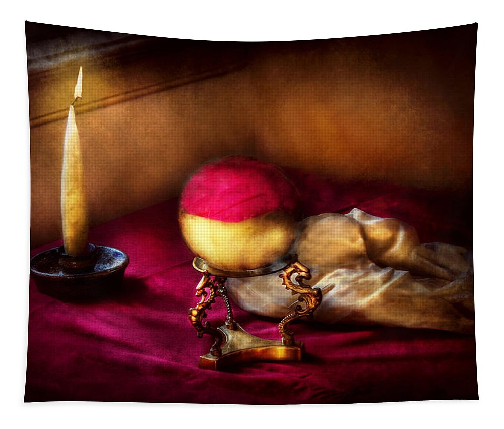 Savad Tapestry featuring the photograph Fantasy - The Crystal Ball by Mike Savad