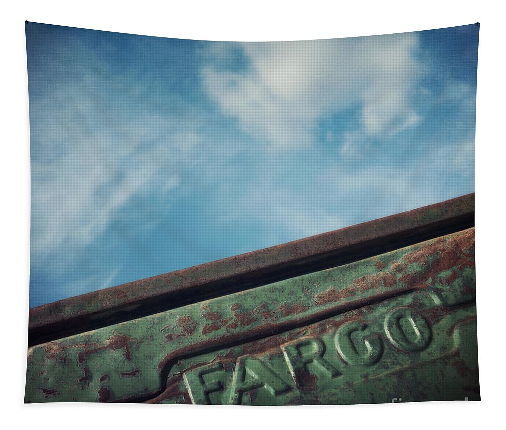 Truck Tapestry featuring the photograph Fargo by Priska Wettstein