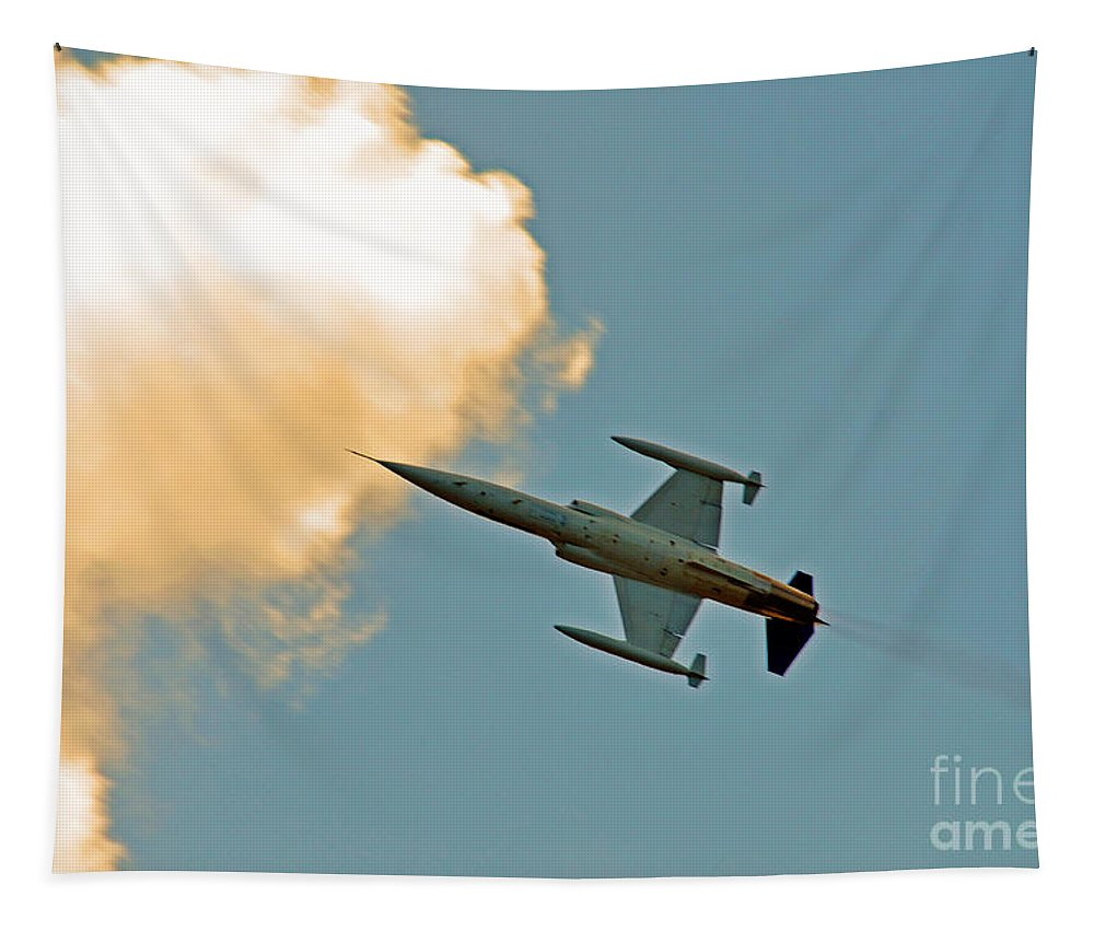 Fast Tapestry featuring the photograph Fast And Furious by Davids Digits