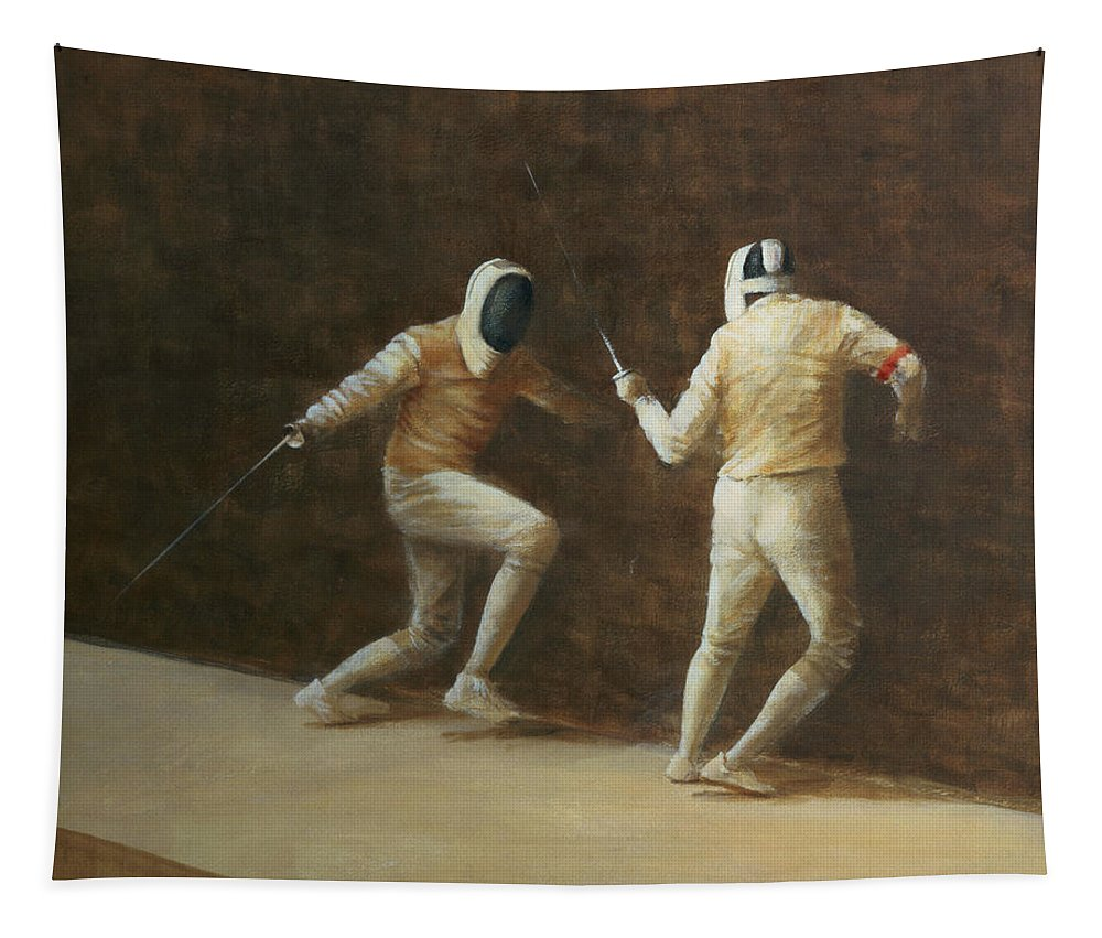 Fencing Tapestry