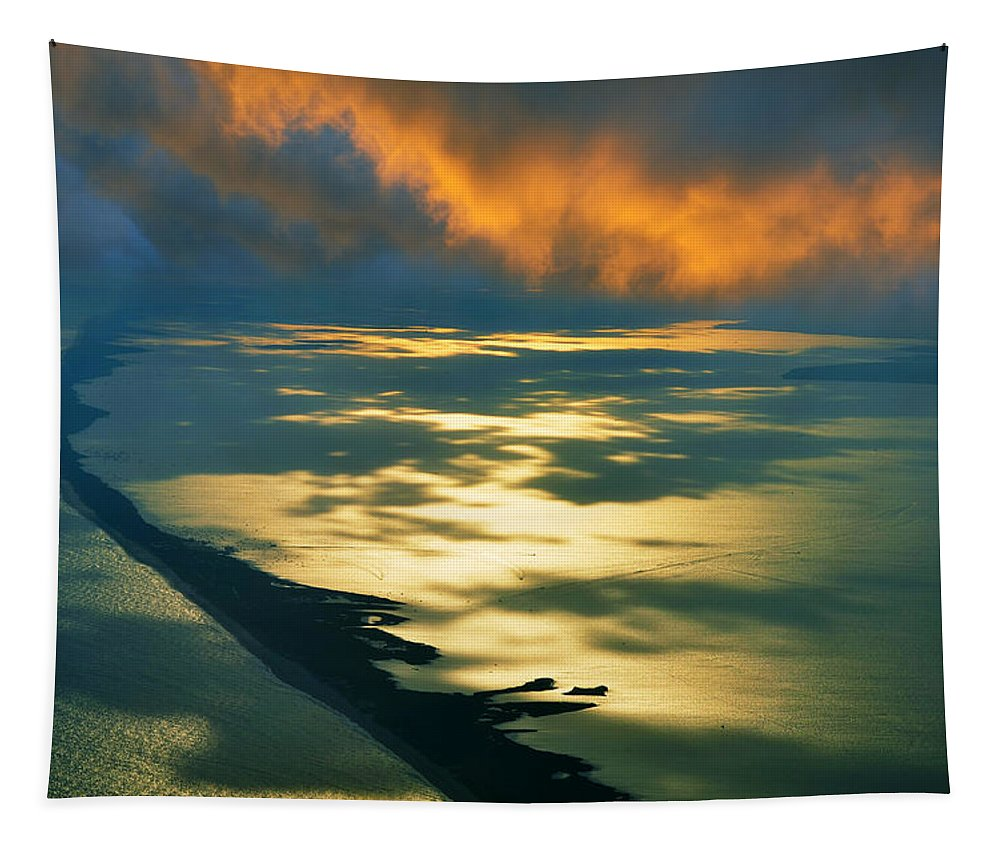 Fire Island Tapestry featuring the photograph Fire Island by Laura Fasulo