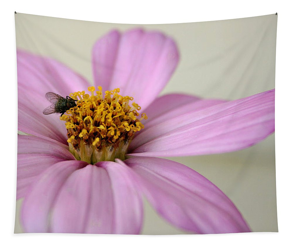 Flower Tapestry featuring the photograph Fly Time by Susan McMenamin