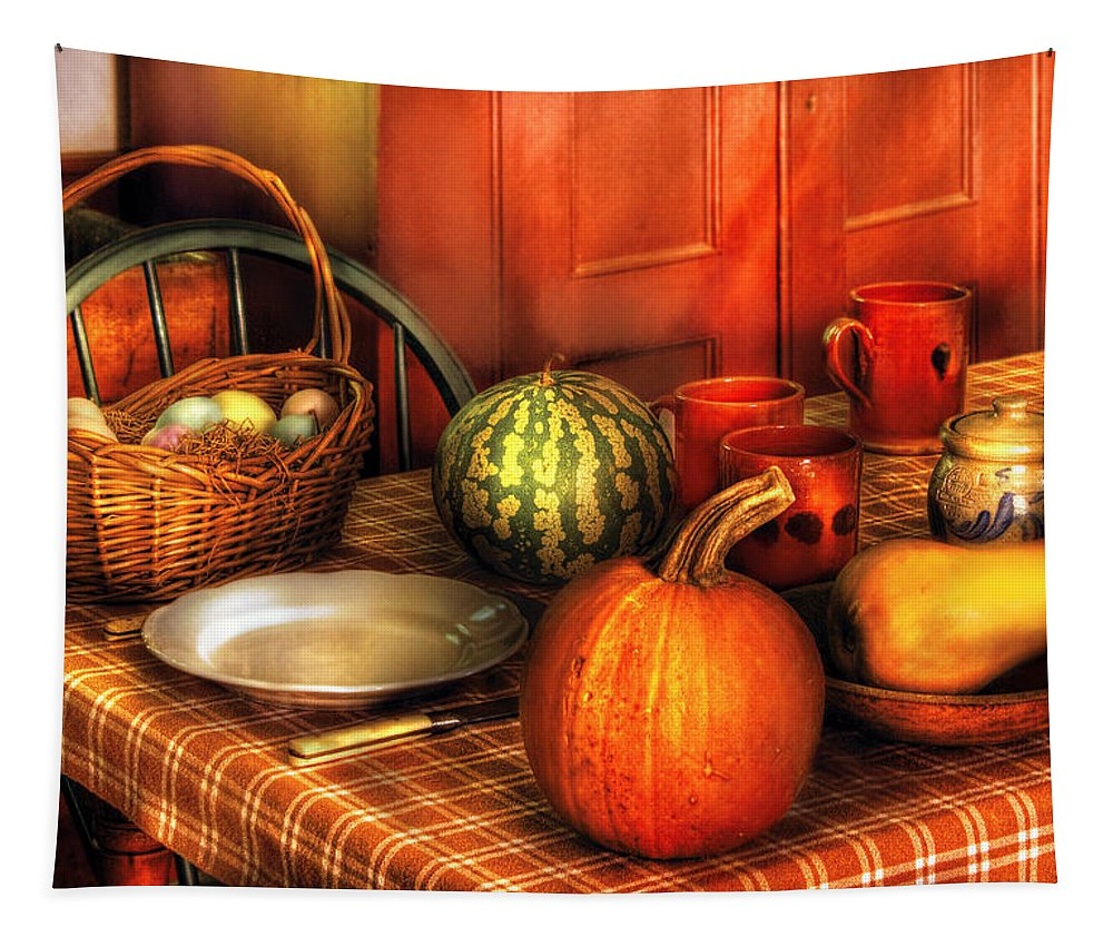 Savad Tapestry featuring the photograph Food - Nature's Bounty by Mike Savad
