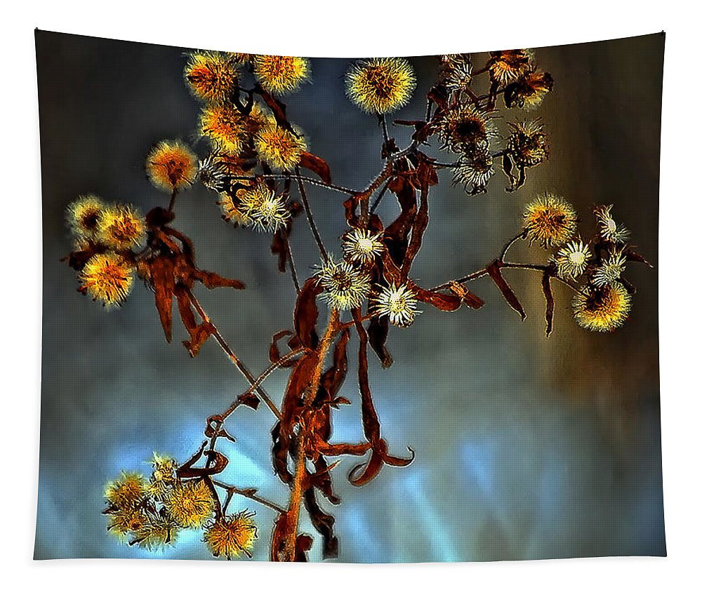 Weed Tapestry featuring the photograph For You by Steve Harrington