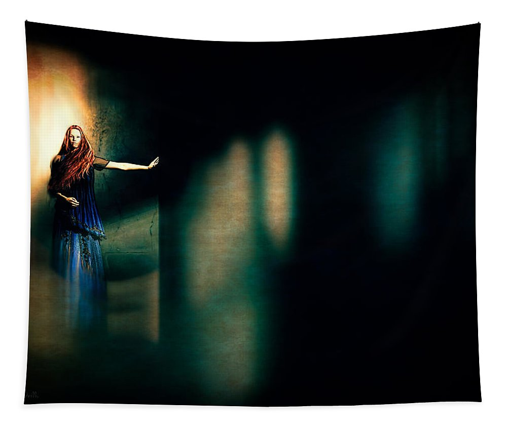 Oracle Tapestry featuring the digital art Fortune Teller by Bob Orsillo