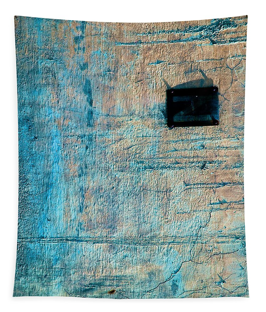 Industrial Tapestry featuring the photograph Foundation Eight by Bob Orsillo