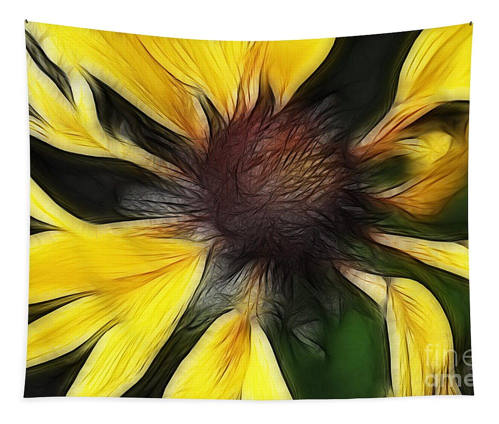 Flower Tapestry featuring the photograph Free Spirited by Bob Christopher