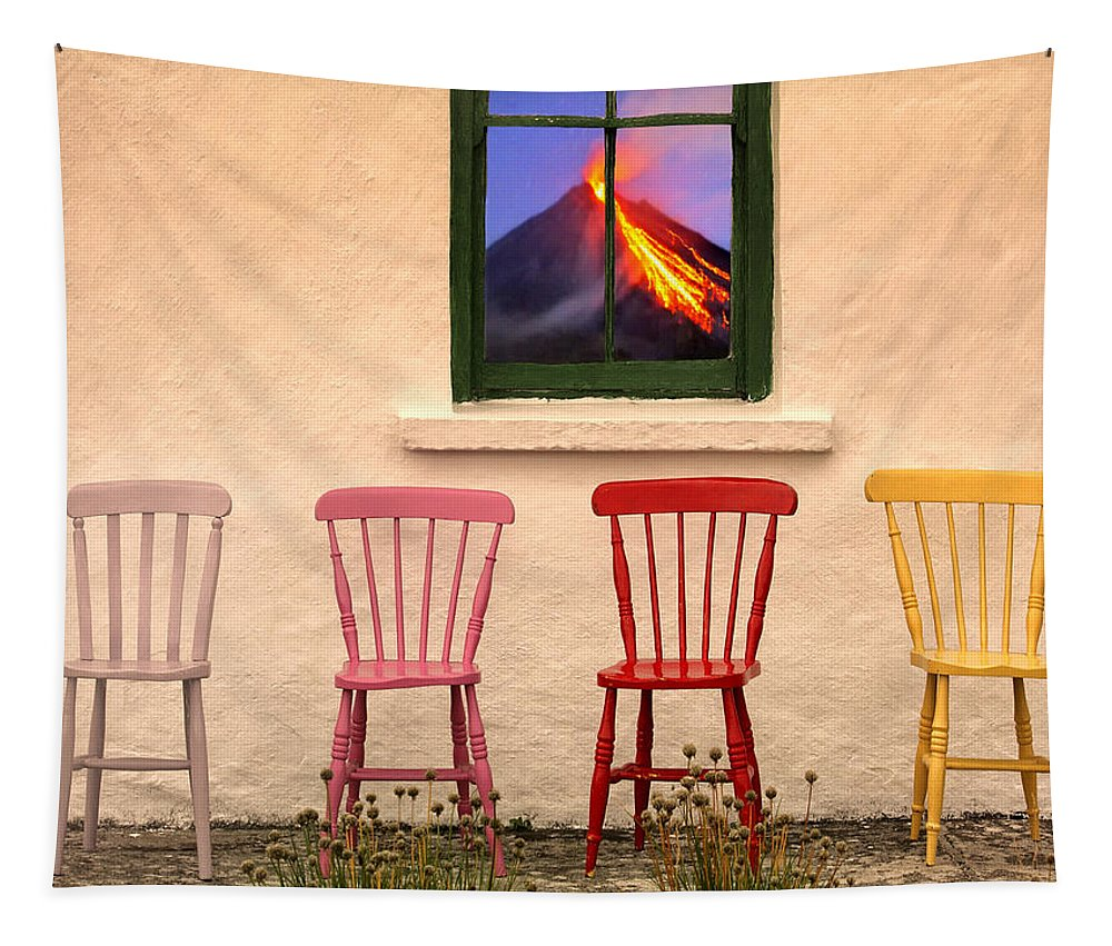 Front Row Seats Tapestry featuring the photograph Front Row Seats At The Apocalypse by Dominic Piperata