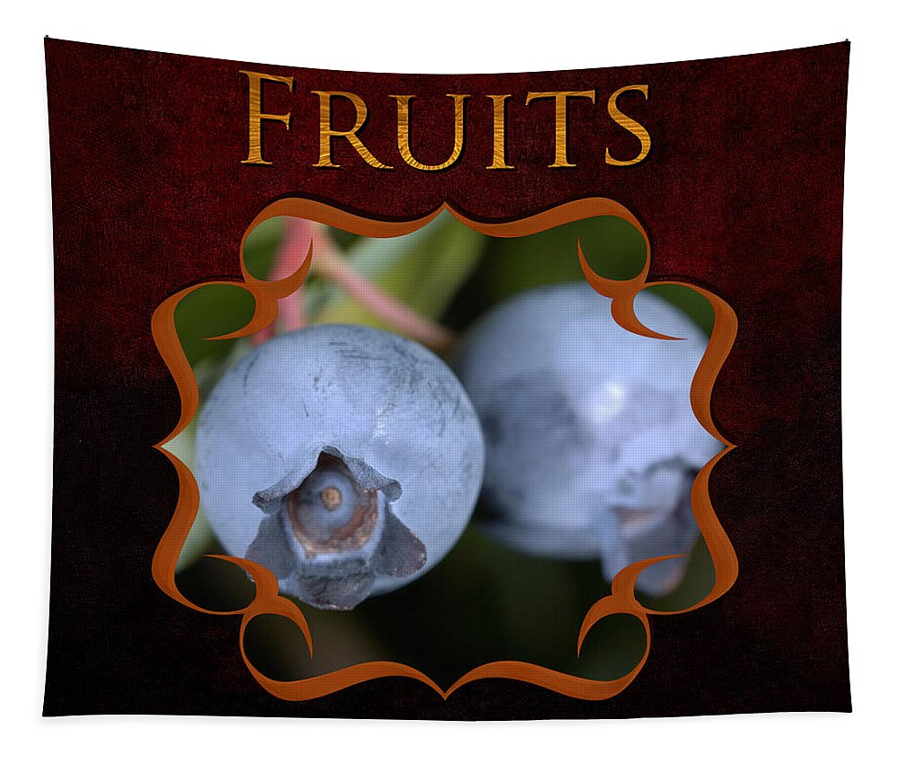 Iris Holzer Richardson Tapestry featuring the photograph Fruits Gallery by Iris Richardson