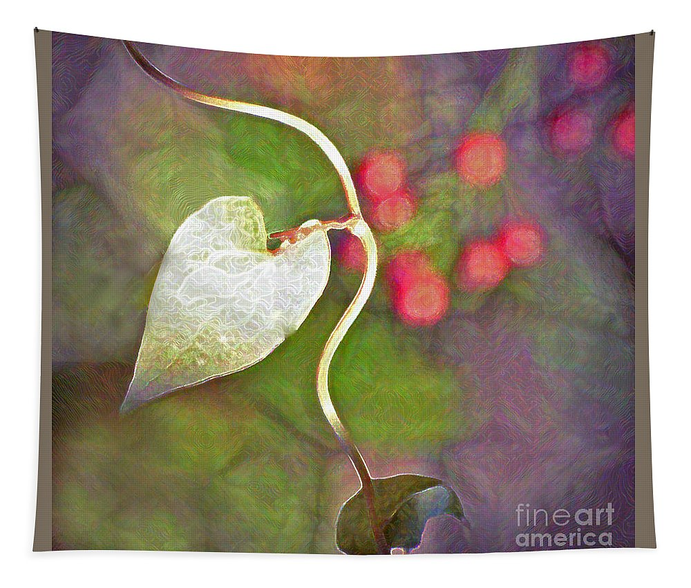 Heart Tapestry featuring the photograph Full Of Hope by Kerri Farley