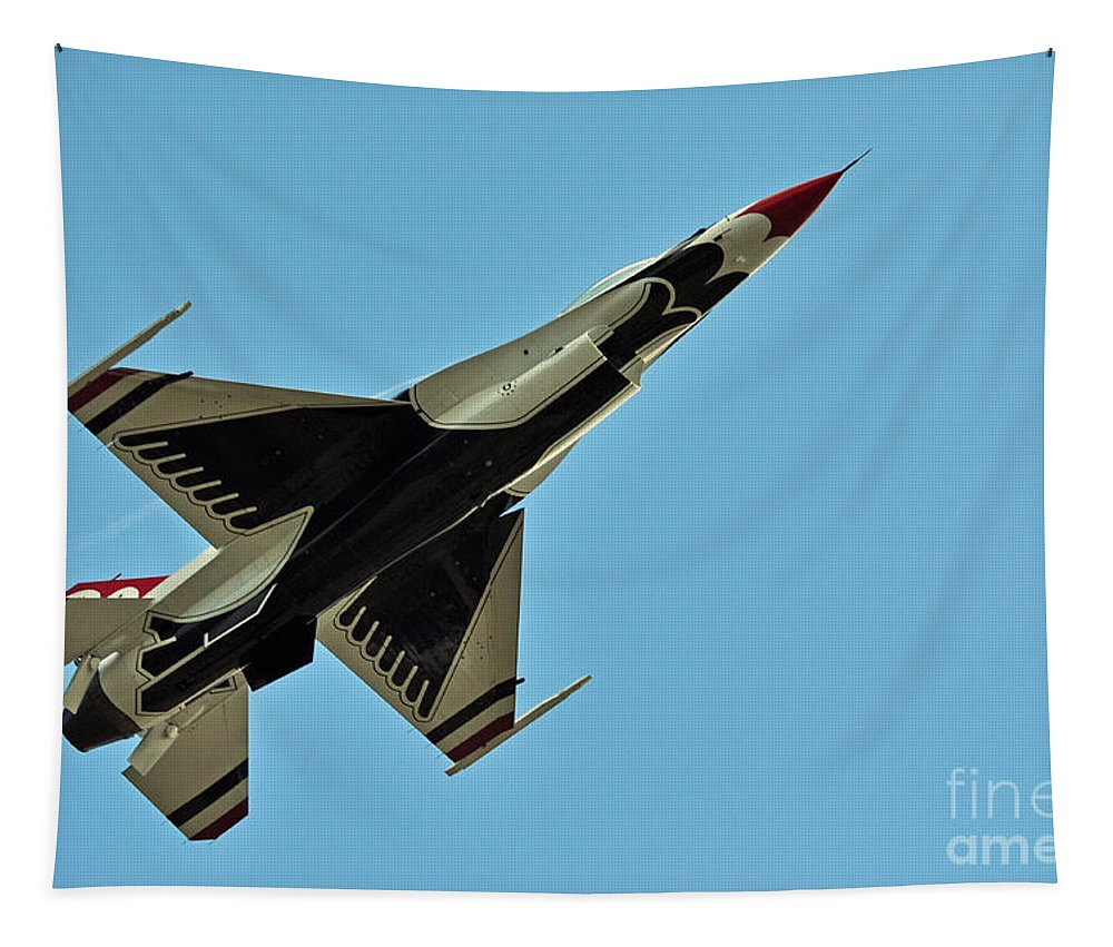 Thunderbird Tapestry featuring the photograph Full View by Davids Digits