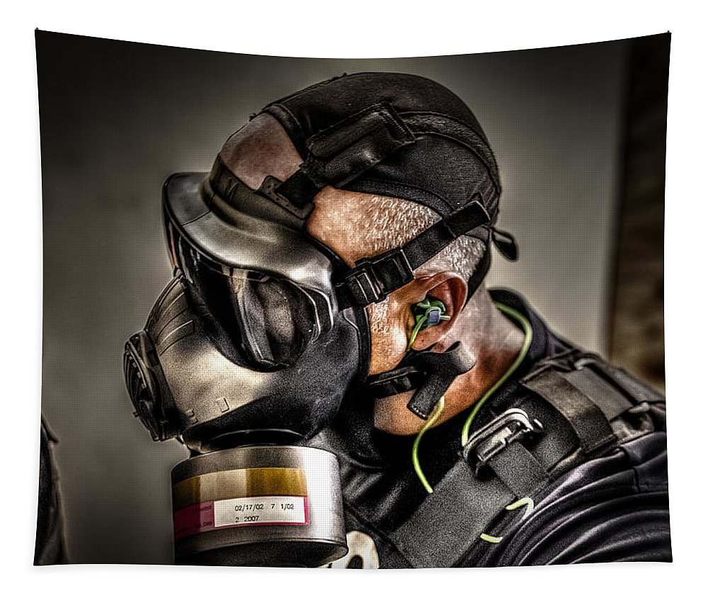 Swat Tapestry featuring the photograph Gas Gas Gas by David Morefield