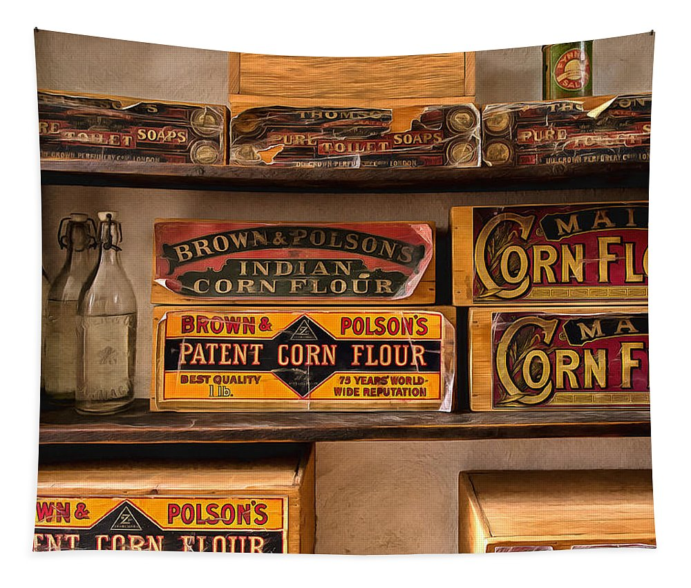 Tin Tapestry featuring the photograph General Store 2 by Nigel R Bell
