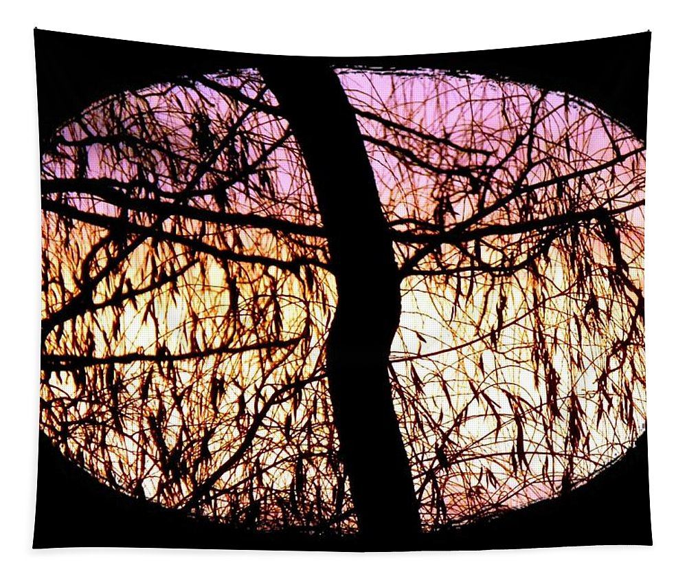 Glorious Silhouettes 3 Tapestry featuring the photograph Glorious Silhouettes 3 by Will Borden