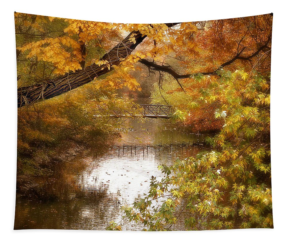 Autumn Tapestry featuring the photograph Golden Days by Jessica Jenney