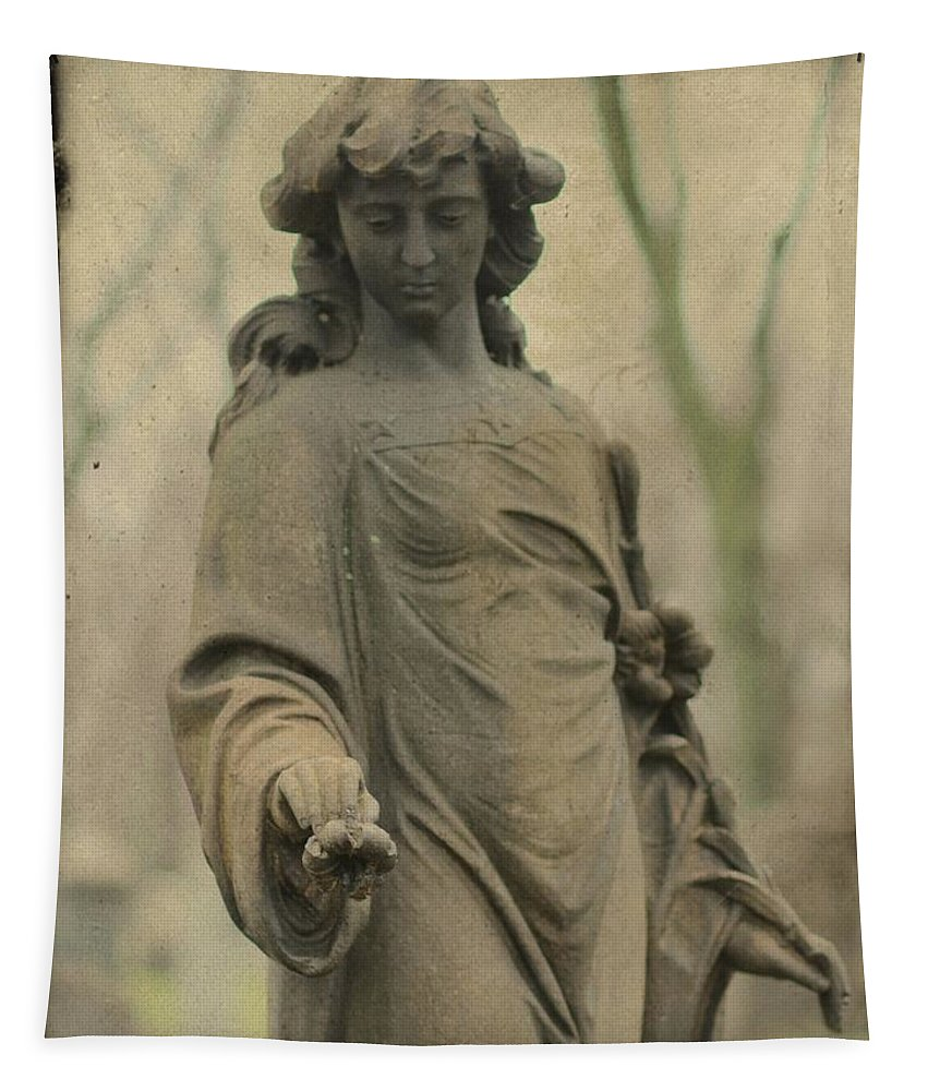Gothic Tapestry featuring the photograph Gothic Stone by Gothicrow Images