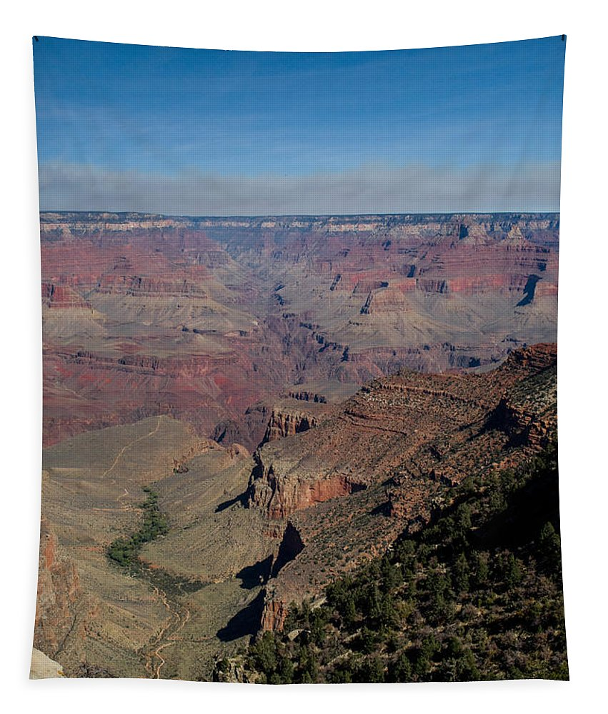 Grand Tapestry featuring the photograph Grande Canyon Afternoon by Douglas Barnett