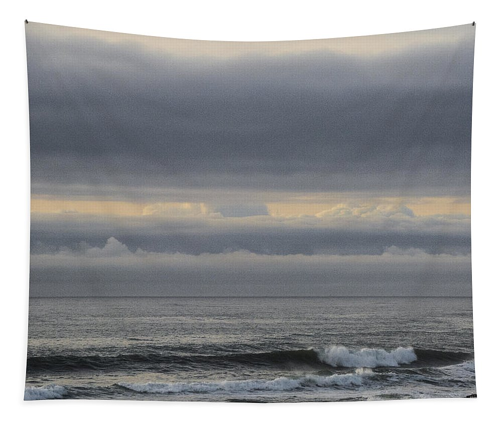 California Tapestry featuring the photograph Grey Day by Sean O'Cairde