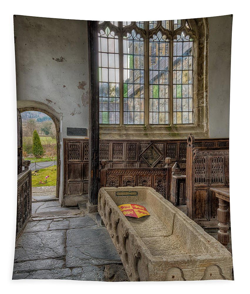 13th Century Tapestry featuring the photograph Gwydir Chapel by Adrian Evans