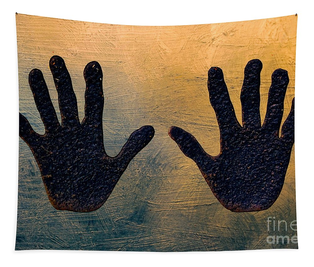 Photography Tapestry featuring the photograph Hands Down by Kathleen K Parker