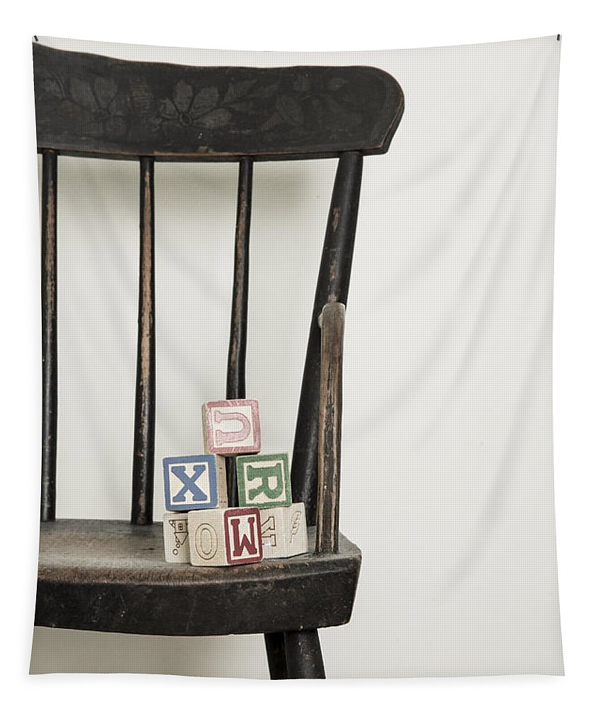 High Tapestry featuring the photograph High Chair by Edward Fielding