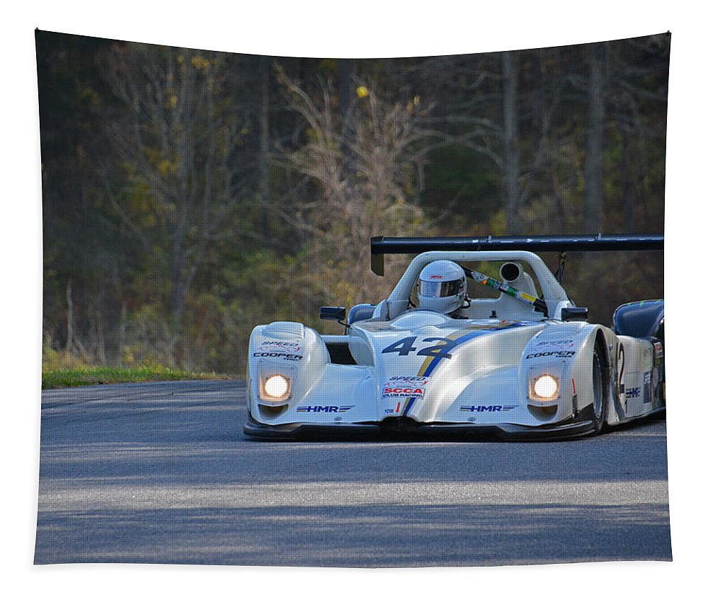 Honda Tapestry featuring the photograph Honda 42 by Mike Martin