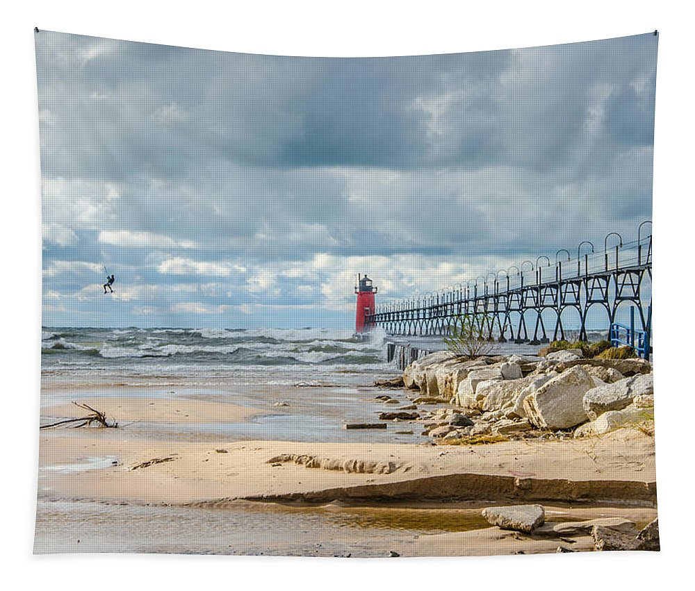 Christopher List Tapestry featuring the photograph I Can Fly by Gales Of November