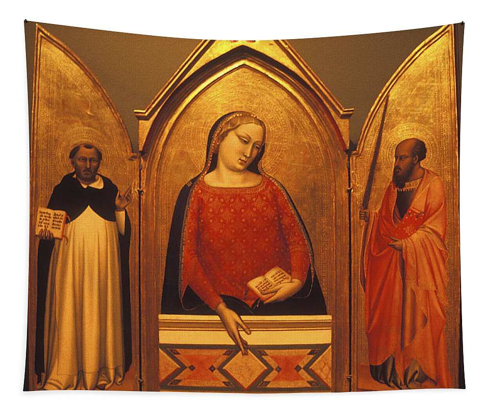 Religious Tapestry featuring the photograph Icon Case by Paul W Faust - Impressions of Light