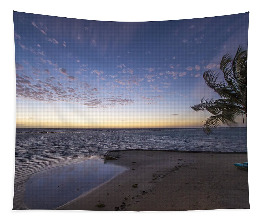 Belize Tapestry featuring the photograph Idyllic by Jean Noren